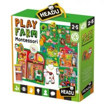 Puzzle Montessori Farma HEADU