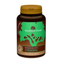 Rainforest Foods Chlorella bio (300 tabletek x 500 mg)