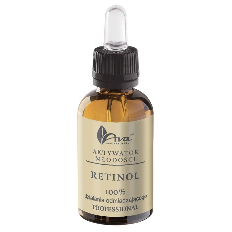 AVA Aktywator młodości z retinolem z witaminami C, E, F 30 ml