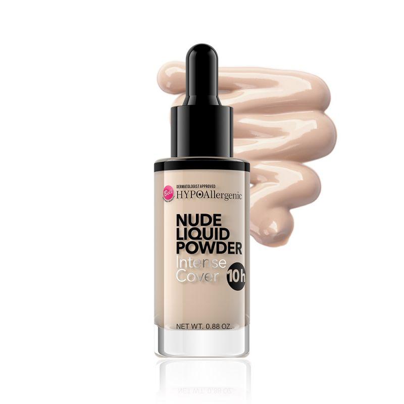 Bell HypoAllergenic Nude Liquid Powder, puder matujący w