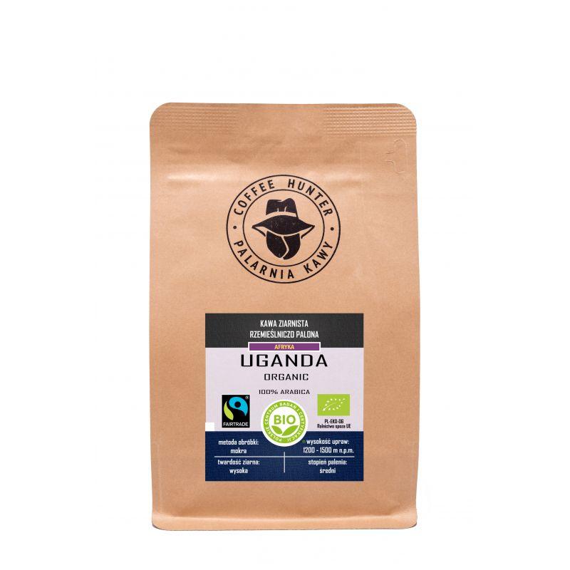 COFFEE HUNTER Kawa ziarnista rzemieślnicza Uganda 250 g Bio